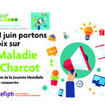 A partir du 21 juin, portons la voix sur la Maladie de Charcot…