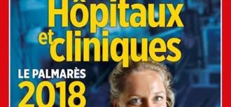 La Clinique Saint-Hilaire dans le palmarès 2018 des hôpitaux et cliniques