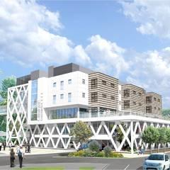 Maquette du bâtiment de consultations
