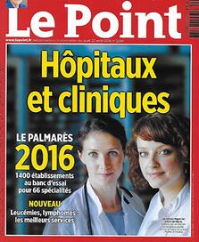 La Clinique Saint-Hilaire dans le palmarès 2016 des hôpitaux et cliniques