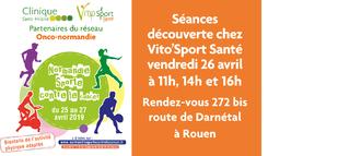Découvrez Vito'Sport Santé le 26 avril